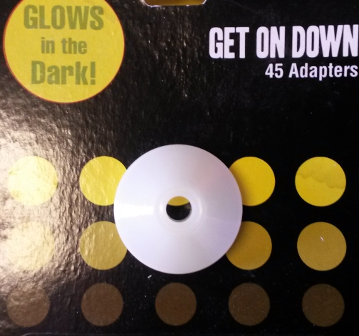 45rpm singles adapter - Glow in the dark Cone