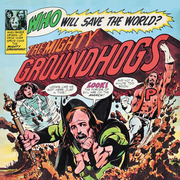 Groundhogs - Who will save the World (YELLOW VINYL)