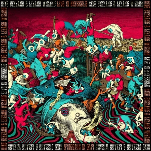 King Gizzard and The Lizard Wizard - Live in Brussels 19 (3LP Ltd edition)