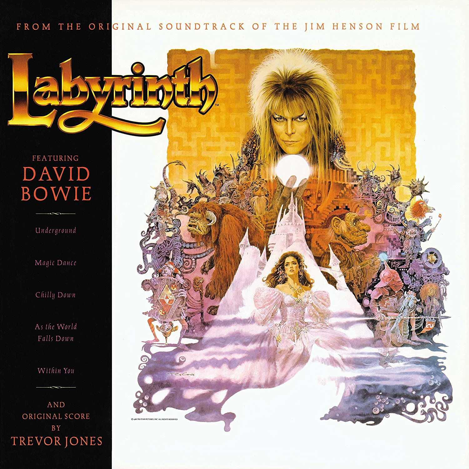 David Bowie & Trevor Jones - Labyrinth (OST)