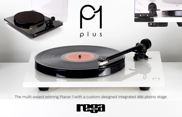 Rega P1 plus - Turntable/Built in Phono Stage