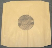 Paper Sleeves-12 inch - Poly lined x 10
