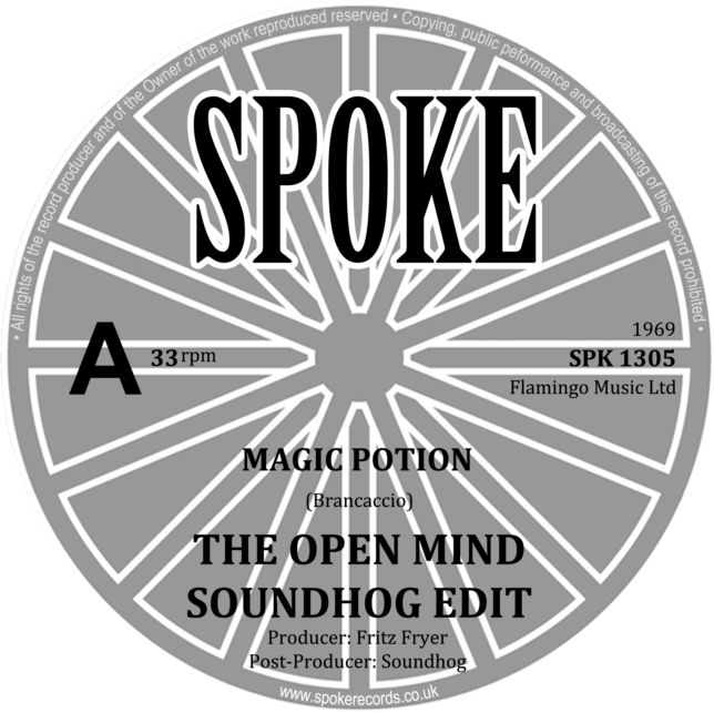 Open Mind/the Dakotas - Magic potion/The spider and the fly