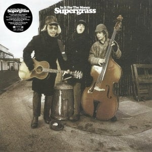 Supergrass - In it for the money (BLACK +WHITE12inch)
